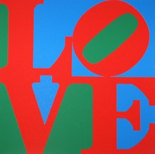 Robert INDIANA - Grabado - Love