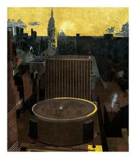 Jorge CASTILLO - Grabado - Madison Square Garden, NY