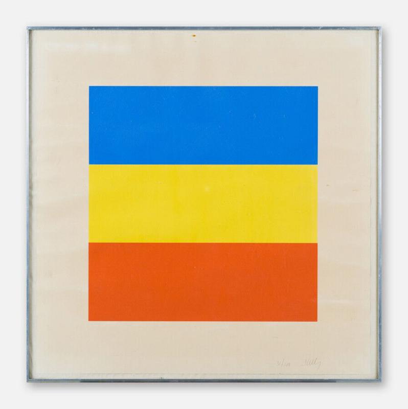Ellsworth KELLY - Druckgrafik-Multiple - Red, Yellow, Blue