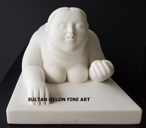 Fernando BOTERO - Scultura Volume - Woman with Fruit