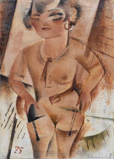 Alberto MANFREDI - Pintura - Modella