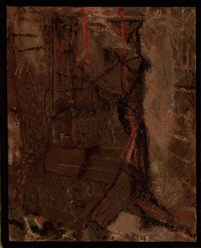 Juan Luis GOENAGA - 绘画 - Composition -  Basque