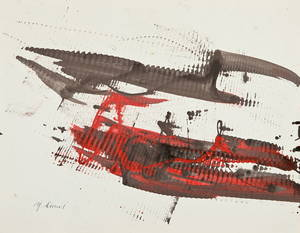 Yasuo SUMI - Dessin-Aquarelle - Untitled