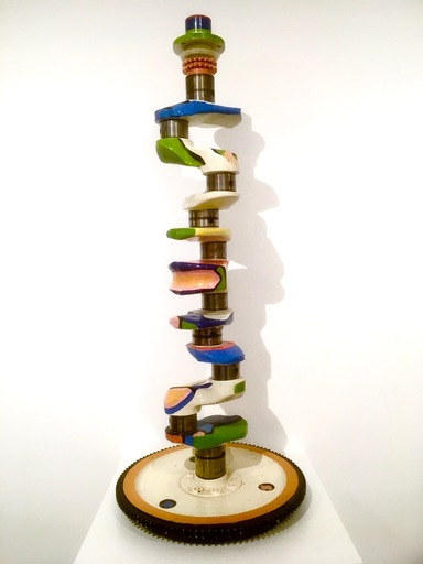 Guy VANDENBRANDEN - Sculpture-Volume - Totem ca.1972