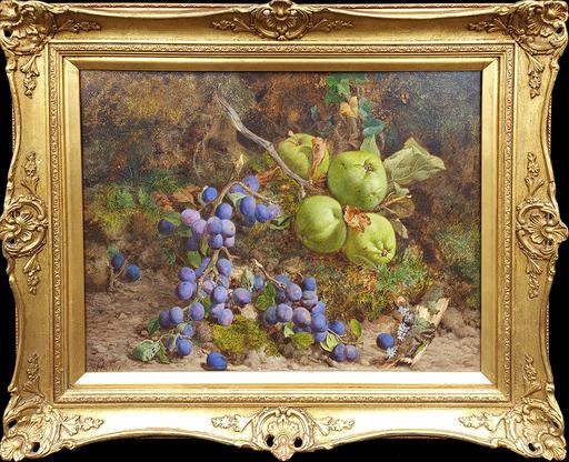 William HUGHES - Pittura - Still Life of Fruit