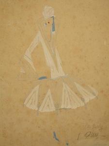 José DE ZAMORA - Painting - Ms Berty