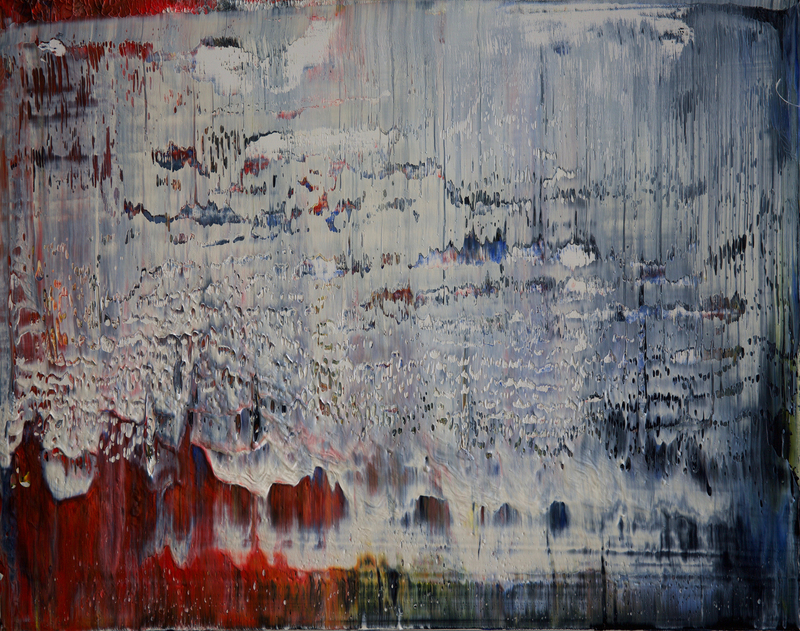 Harry James MOODY - Painting - Abstract grey zone No.429