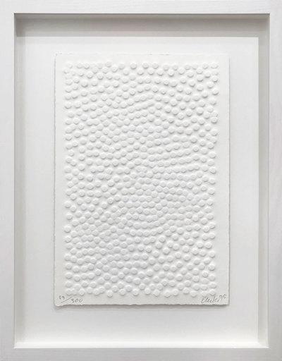 Günther UECKER - Print-Multiple - Kleiner Wind - Little Wind (Permutation)