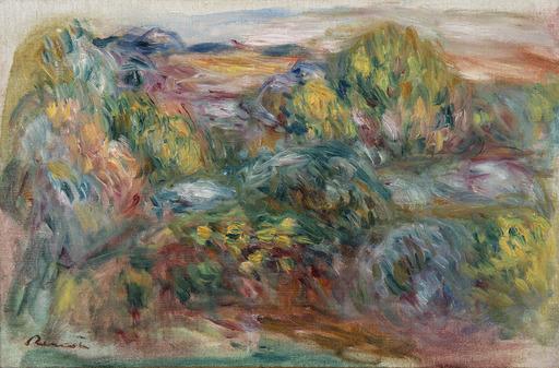 Pierre-Auguste RENOIR - Gemälde - Paysage de Cagnes
