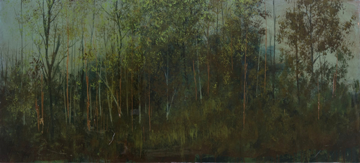 Peter HOFFER - Peinture - Dark Forest