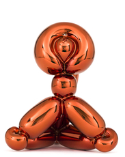 Jeff KOONS - Escultura - Balloon Monkey (Orange)
