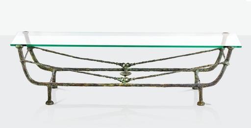 迭戈•贾科梅蒂 - 雕塑 - Table berceau, Première version