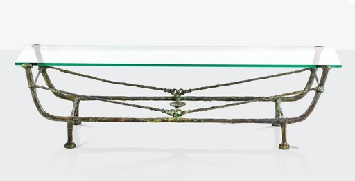 Diego GIACOMETTI - Skulptur Volumen - Table berceau, Première version