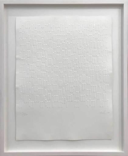 Günther UECKER - Print-Multiple - Reihung 1-2-3