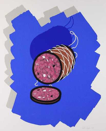 Patrick CAULFIELD - Stampa-Multiplo - Big Sausage