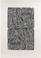 Keith HARING - Stampa Multiplo - The Labyrinth