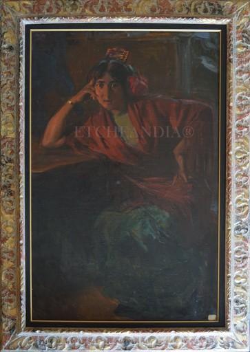 Ulpiano CHECA Y SANZ - Gemälde - Cantaora - Flamenco - España  - París