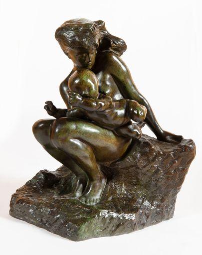 Auguste RODIN - Scultura Volume - L'amour qui passe