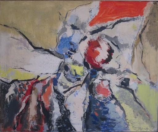 Heinrich SIEPMANN - Pittura - Informelle Komposition