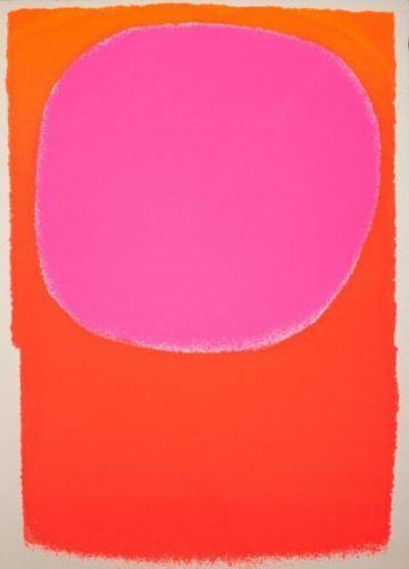 Rupprecht GEIGER - Print-Multiple - Rot in Rot/orange - leuchtrot