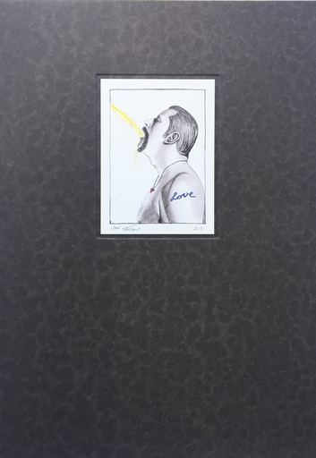 Jan FABRE - Print-Multiple - Love