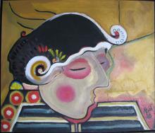 Abol ATIGHETCHI - Gemälde - EL MATADOR