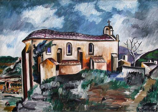 Jean DU MARBORÉ - Painting - Cadière d'Azur