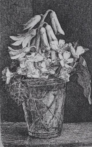 Giovanni BARBISAN - Print-Multiple - Vaso di fiori