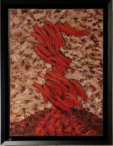 Robert HELMAN - Peinture - Composition pour André Verdet 1956