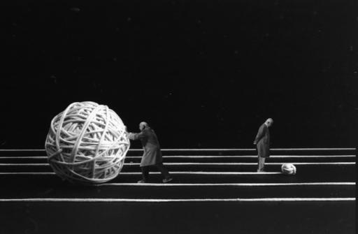 Gilbert GARCIN - Photography - The future is´nt any more, what it was before.