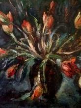 Mordechai ARIELI - Pintura - Tulips