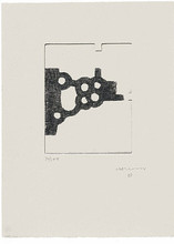 Eduardo CHILLIDA (1924-2002) - Literature or Life III