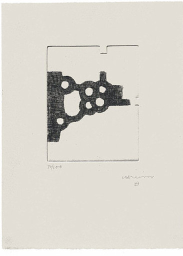 Eduardo CHILLIDA - Print-Multiple - Literature or Life III