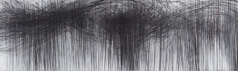 Jaanika PEERNA - Drawing-Watercolor - Storm Series Horizontal 82