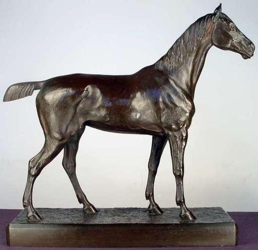 H.R. DE VAINS - Escultura - Jument Cobesse