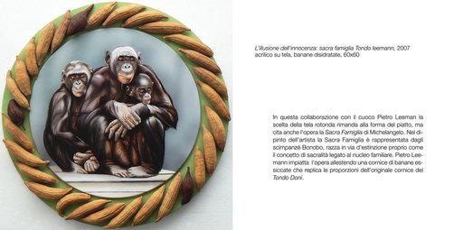 Antonella MAZZONI - Peinture - Sacra famiglia o tondo Leemann