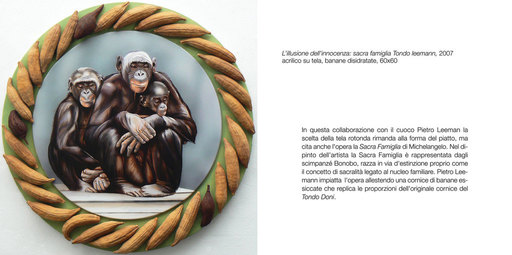 Antonella MAZZONI - Painting - Sacra famiglia o tondo Leemann