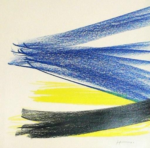 Hans HARTUNG - Disegno Acquarello - HH5287