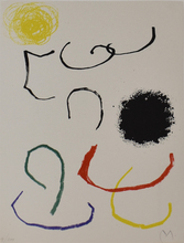 Joan MIRO - Estampe-Multiple - Composition XI, from: Recent Unpublished Works| Obra inèdita