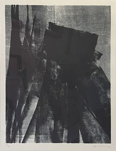 Hans HARTUNG - Stampa-Multiplo - L1977-4