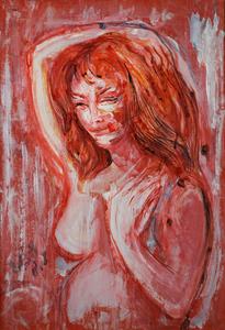 Aligi SASSU - Pintura - Nudo femminile
