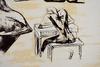 亨利•摩尔 - 版画 - Eight Sculptural Ideas Girl Writing