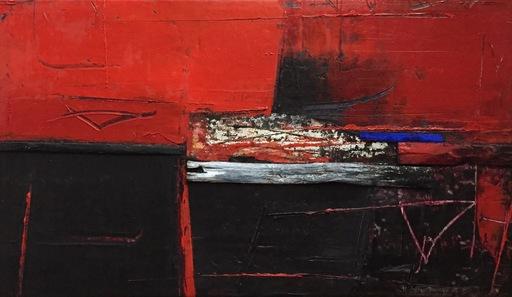 Marino IOTTI - Pintura - Diario rosso/nero