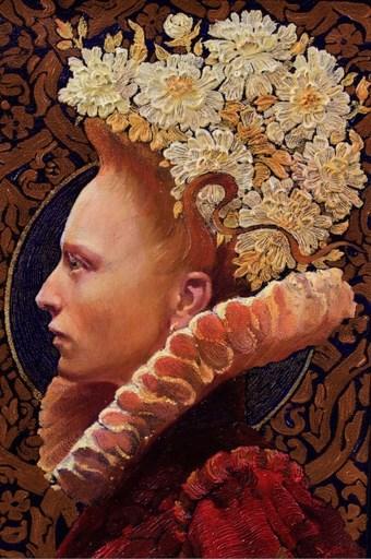 Viktor GORYAEV - 绘画 - Florist