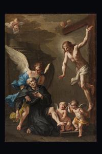 Clemente RUTA - Gemälde - St. Pellegrino Laziosi