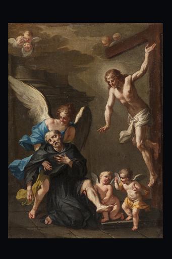 Clemente RUTA - Pittura - St. Pellegrino Laziosi