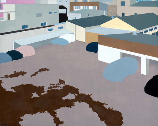 Slav NEDEV - Painting - Post-urban Vision No.5