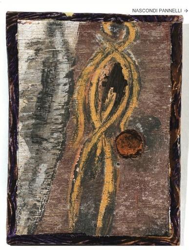 Bruno CECCOBELLI - Painting - Composizione