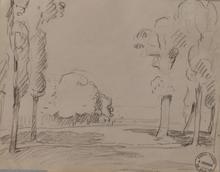 Henri Baptiste LEBASQUE - Drawing-Watercolor - Paysage