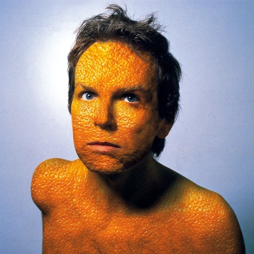 Robert GLIGOROV - Fotografia - Orange skin (self-portrait)